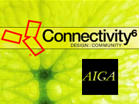 "Connectivity AIGA Y6 - flash design + development - <a href=""/p_y6/"" target=""_blank"">view site</a>"